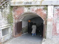 A gate from the original fort
